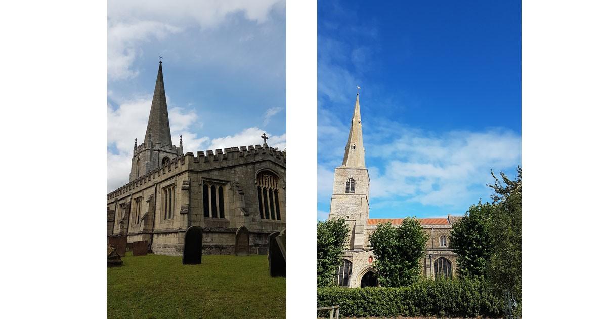 Scrooby Church & Fenstanton Church