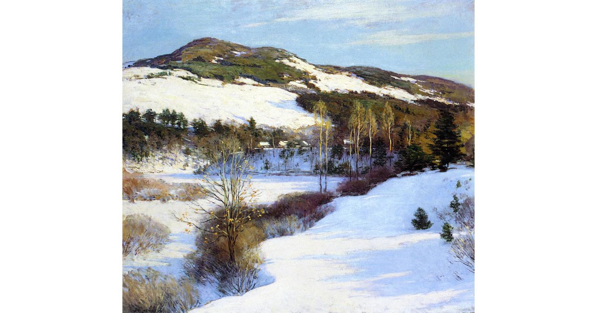Cornish Hills by Willard Metcalf, 1911