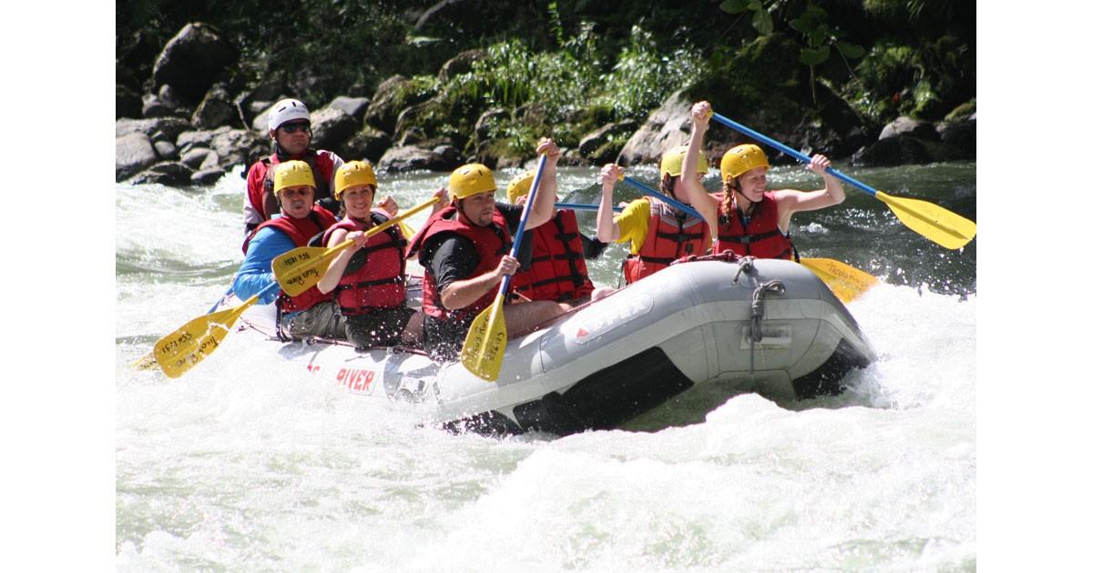 Costa Rica Ticos River Adventures Pacaure River