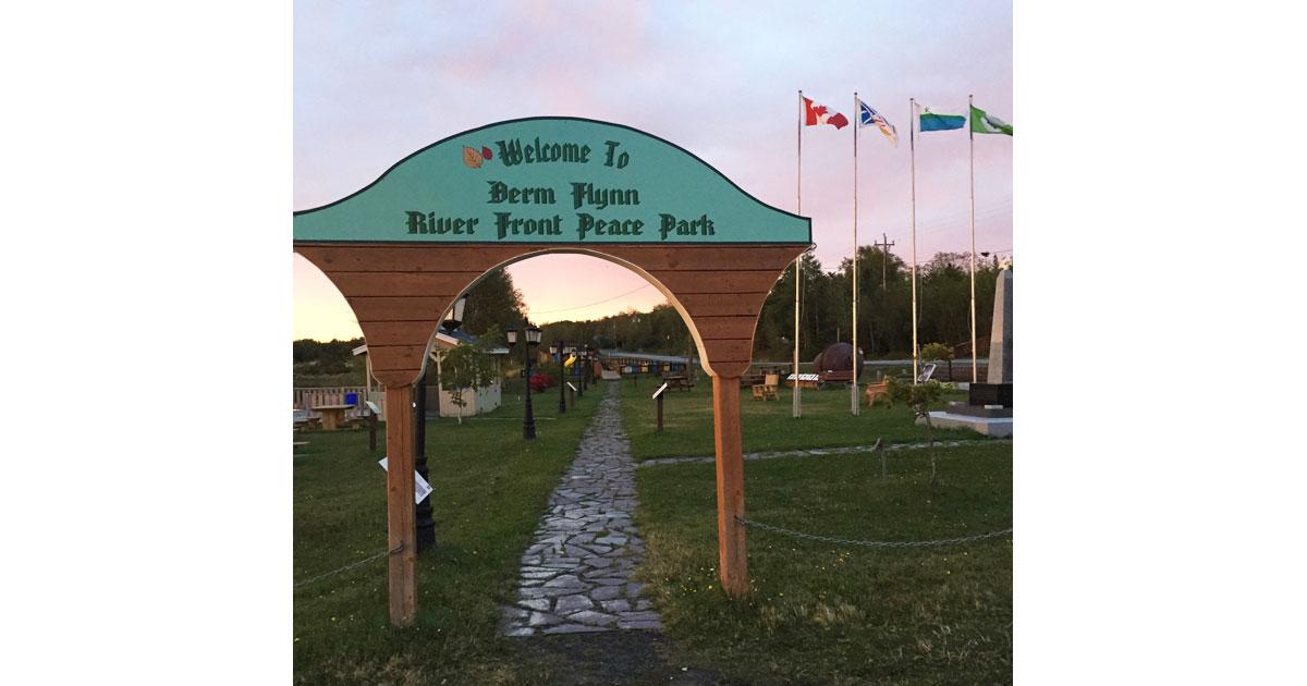 Derm Flynn River Front Peace Park