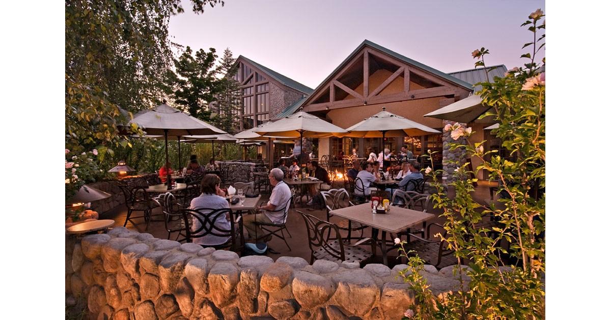 Jacks Patio Overview at Tenaya Lodge - Courtesy Tenaya Lodge