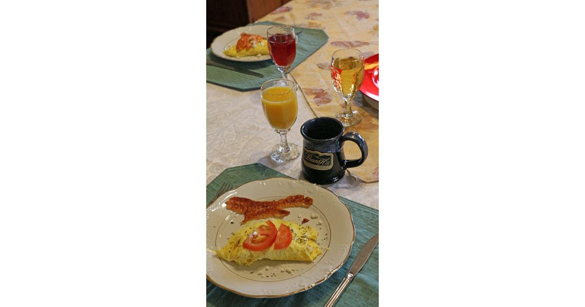 Enjoy a Full Breakfast