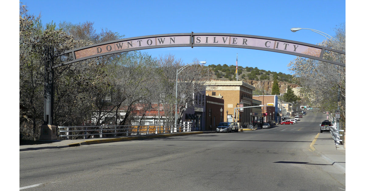 Welcome to downtown Silver City, New Mexico