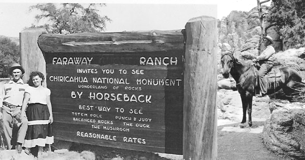 Faraway Sign and Ed Riggs On Horseback