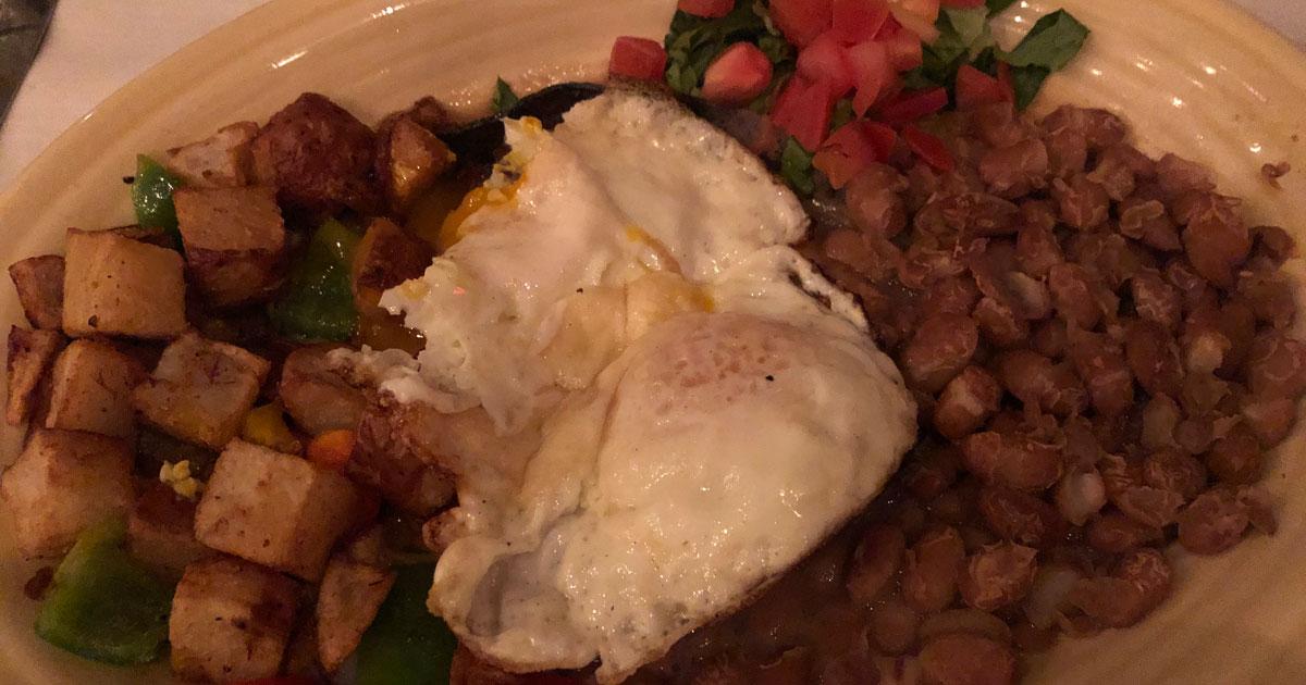 Huevos Rancheros at El Pinto