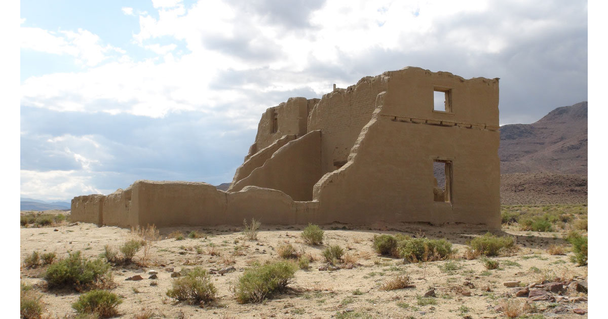 Fort Churchill State Historic Park in Nevada
