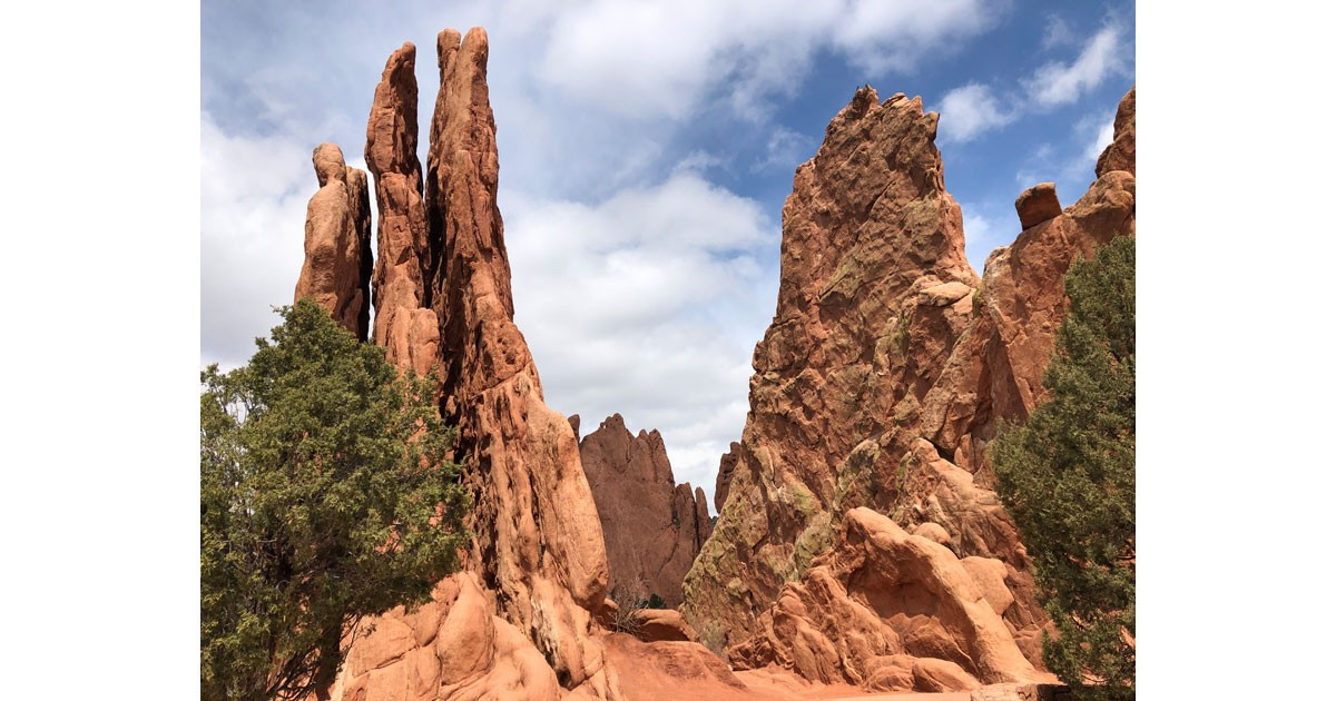 The Garden of the Gods is a must visit in Colorado Springs. Photo by Debbie Stone