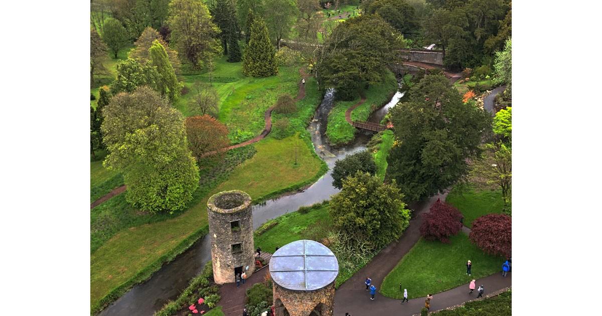 Gardens at Blarney Castle