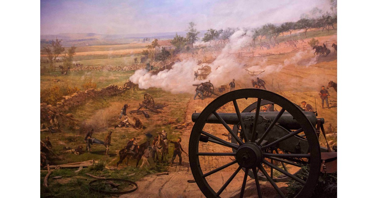Gettysburg Cyclorama - Arnold's Battery A