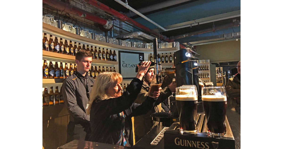 Guinness Storehouse -Brewery