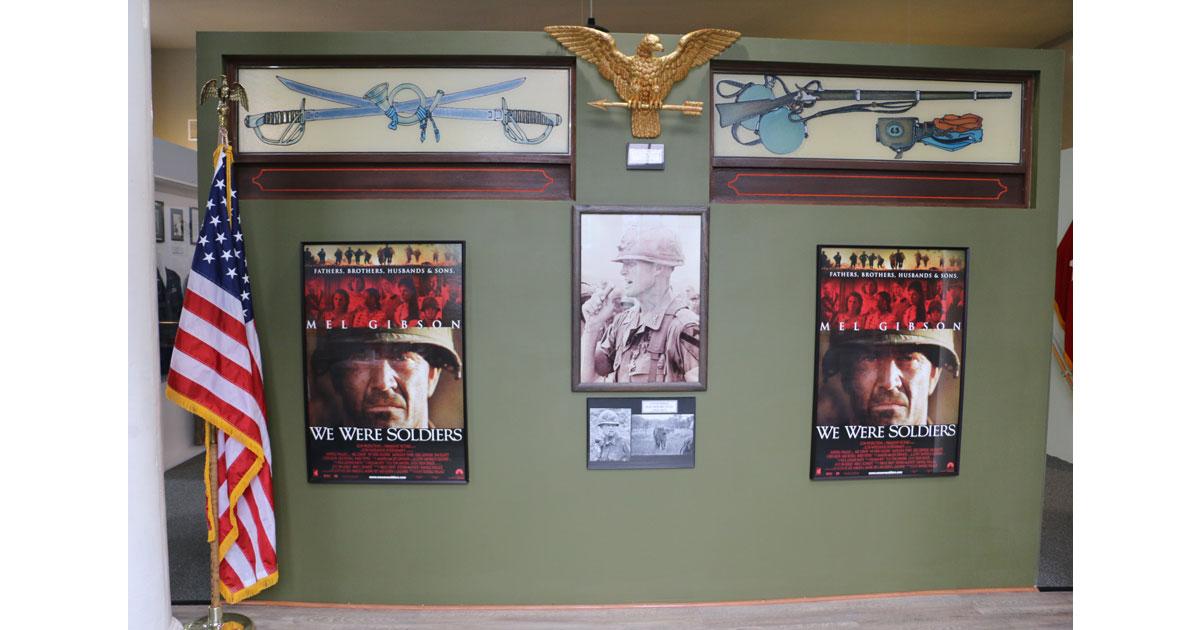 Hal Moore - We Were Soldiers Movie Exhibit