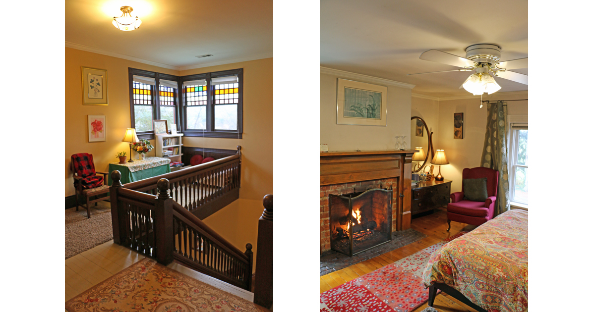 Relax Fireside where Historic Beauty Abounds