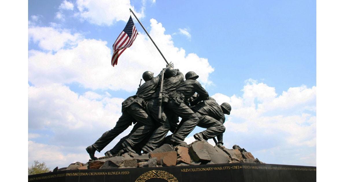 Iwo-Jima-Memorial-from-WWII