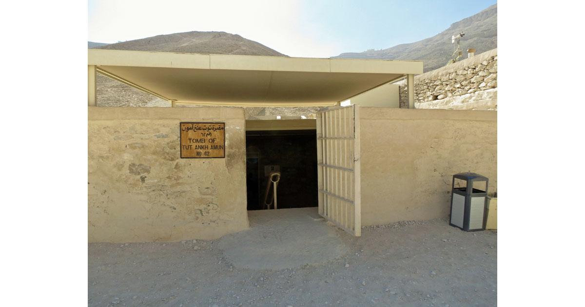 King Tut's Tomb Entrance
