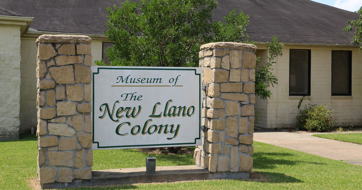 New LLano Colony Museum