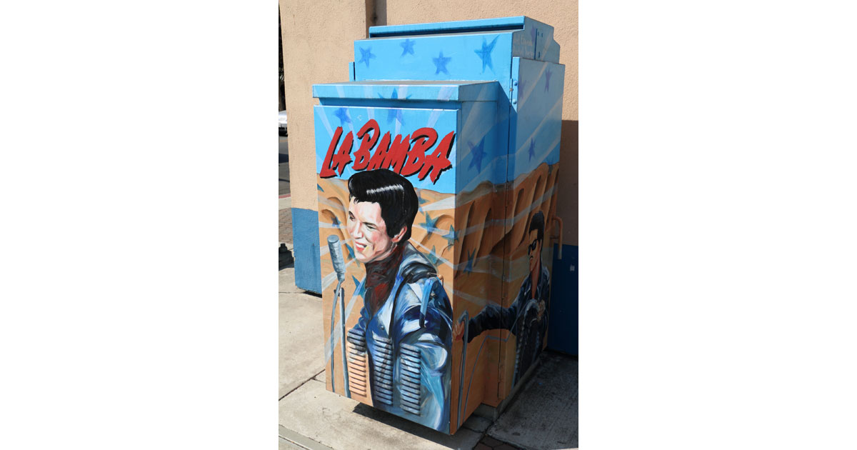 La Bamba Box in Hollister by Joel Esqueda