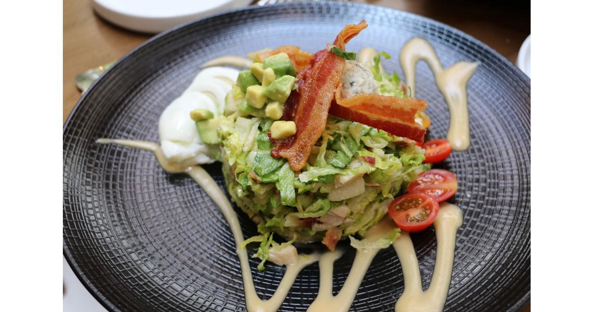 La Fonda Cobb Salad at La Plazuel