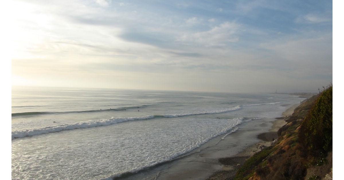 Leucadia State Beach in San Diego, CA