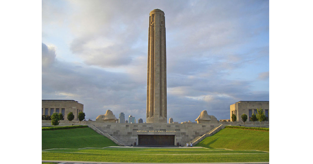 Liberty Memorial, Kansas City, Missouri, honoring veterans and war dead of WWI