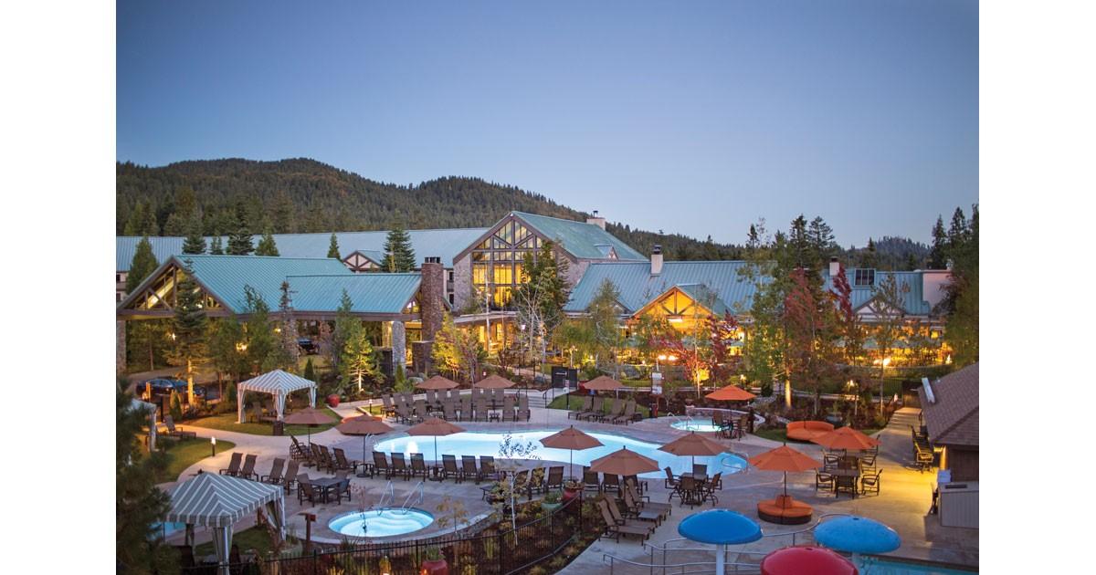 Tenaya Lodge at Dawn with Exterior new pools  - Courtesy Tenaya Lodge