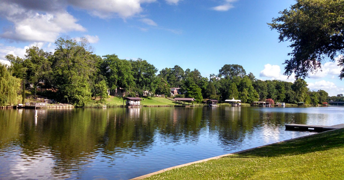 Cane River National Heritage Area in Natchitoches, Louisiana