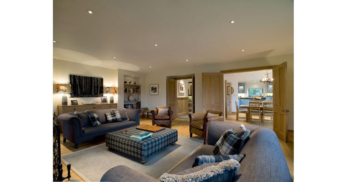 An Cos Shieldaig Vacaiton Home - Lounge