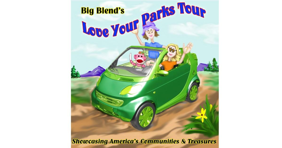 Love Your Parks Tour Logo