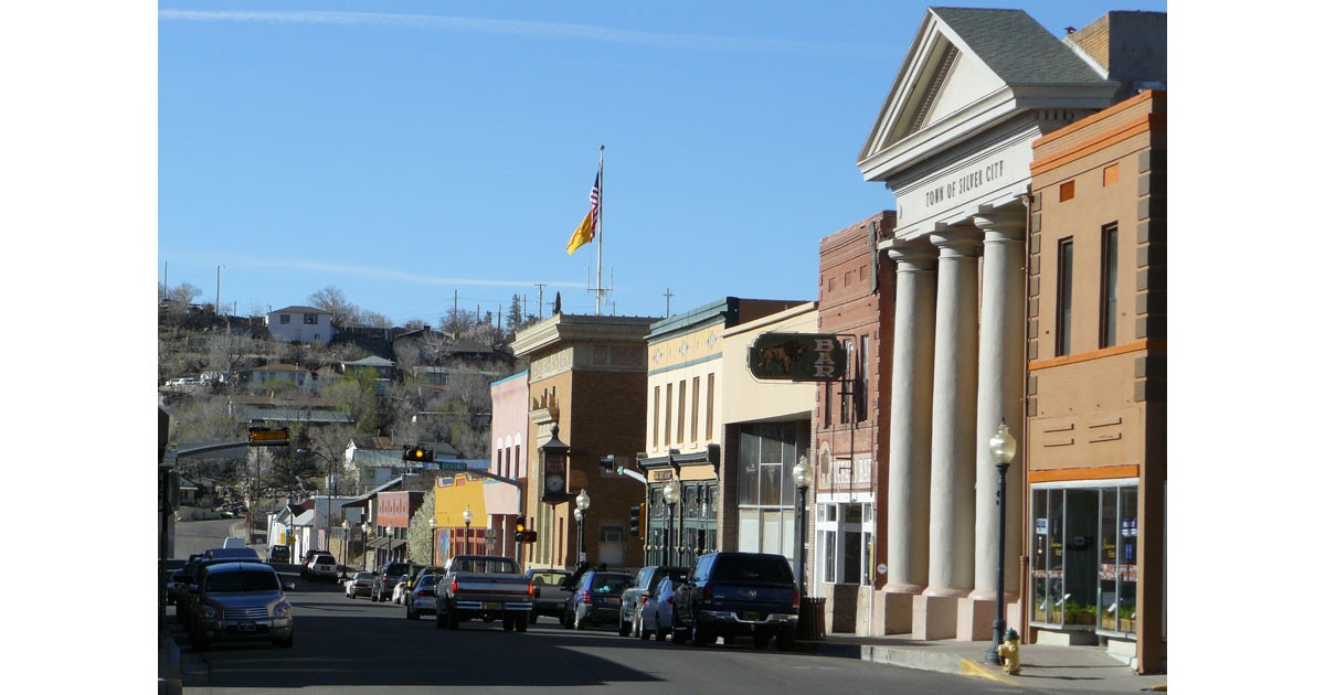 Downtown Silver City, New Mexico