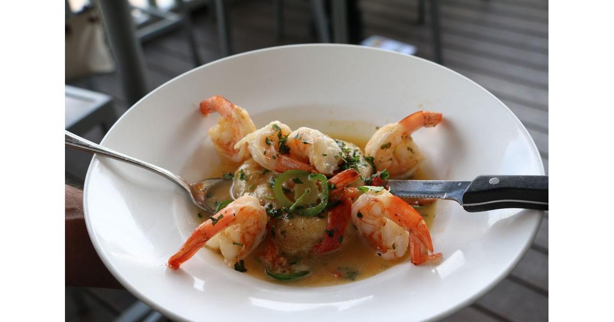 Margarita Shrimp at Thunderbird Bar &  Grill