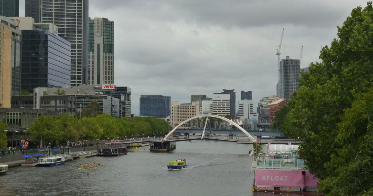 Melbourne's Yara River by Linda Ballou