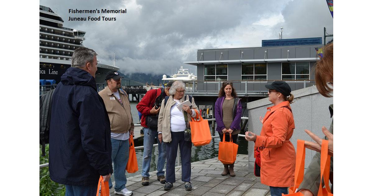 Midgi at Fishermens Memorial