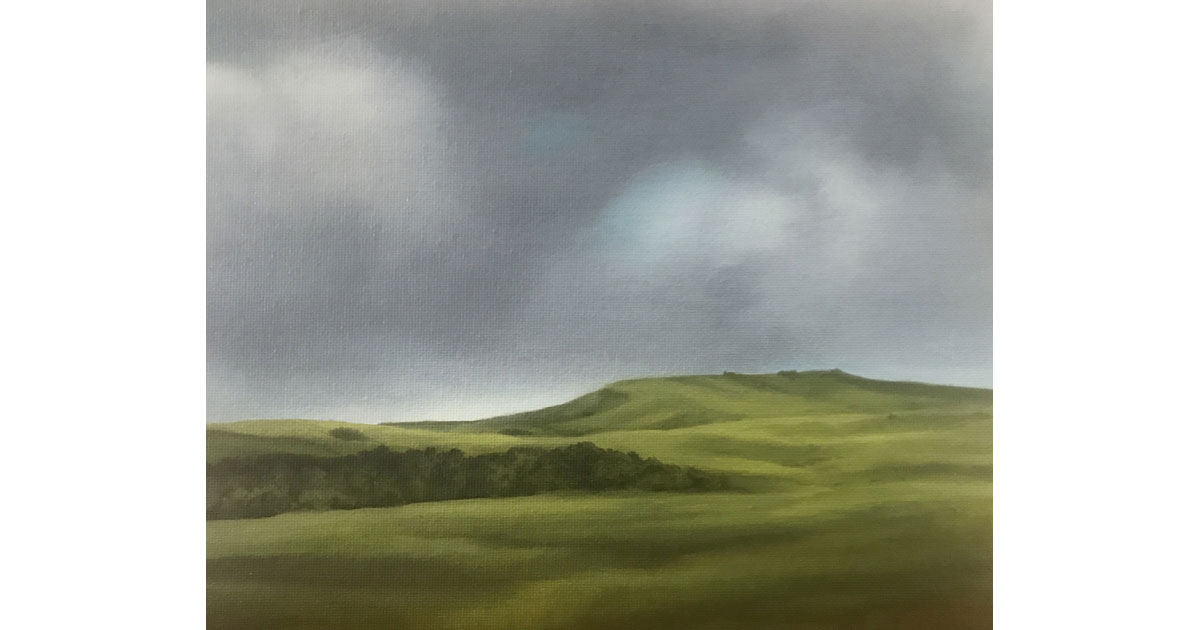 Naalehu painted by Dawn Waters Baker