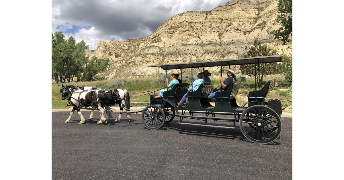 Narrated horse and buggy ride