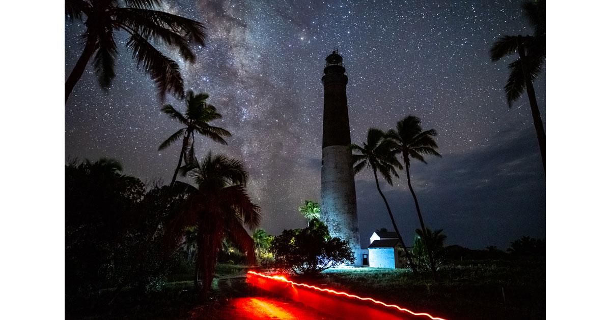 Night Sky at the Lighthouse by Ian Wilson-Navarro