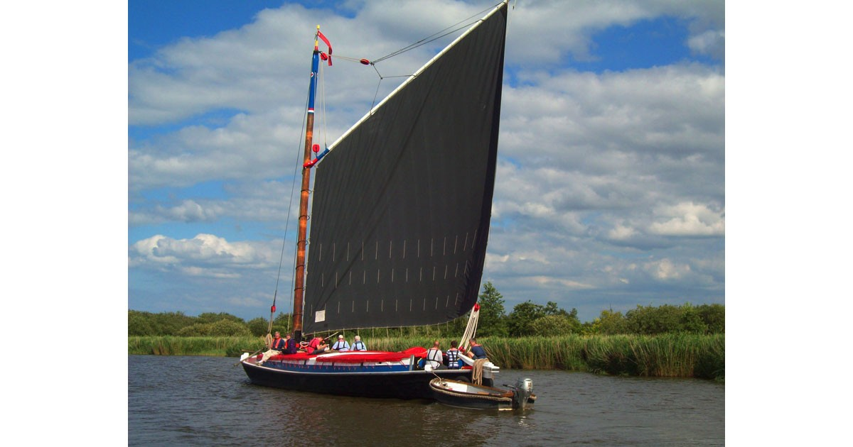 Sailing Norfolk Broads