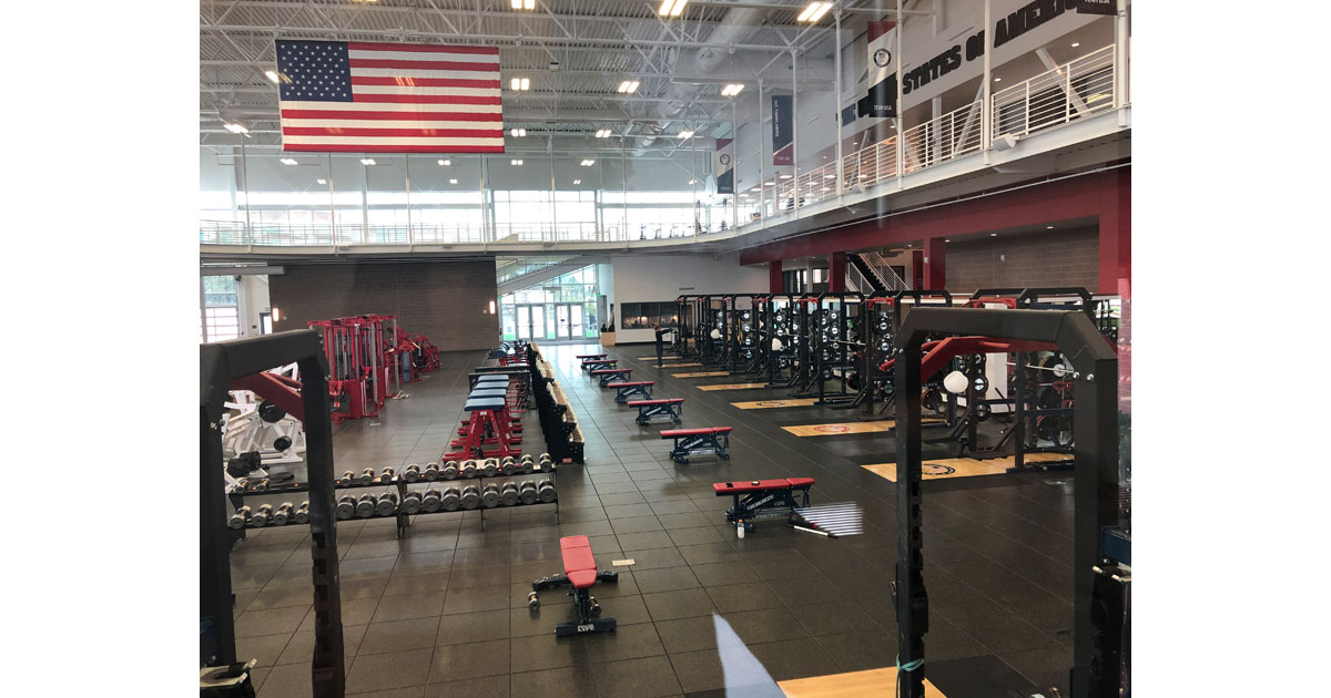 Olympic Training Center in Colorado Springs. Photo by Debbie Stone