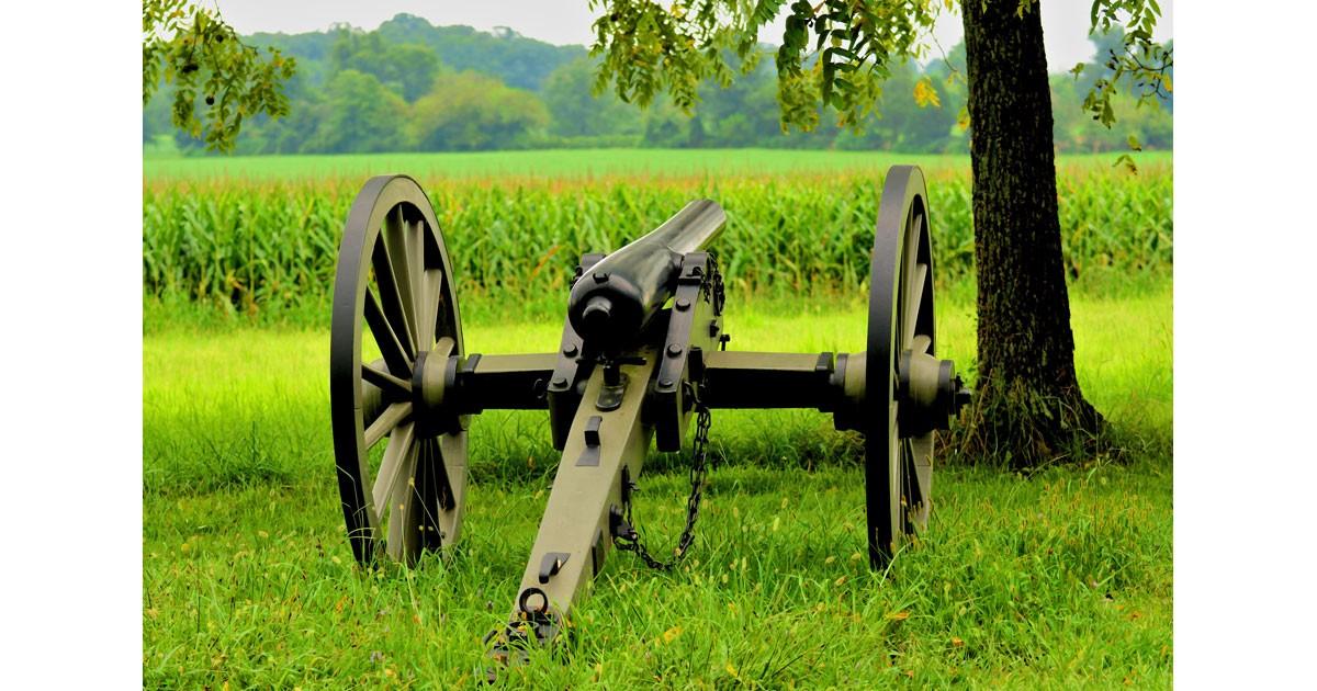 On the Calvary Field, Gettysburg. Photo by Jim Schlett