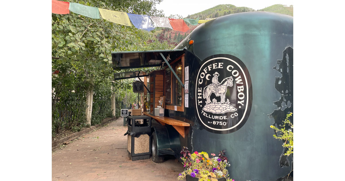 One of several places to grab your cup of Joe.