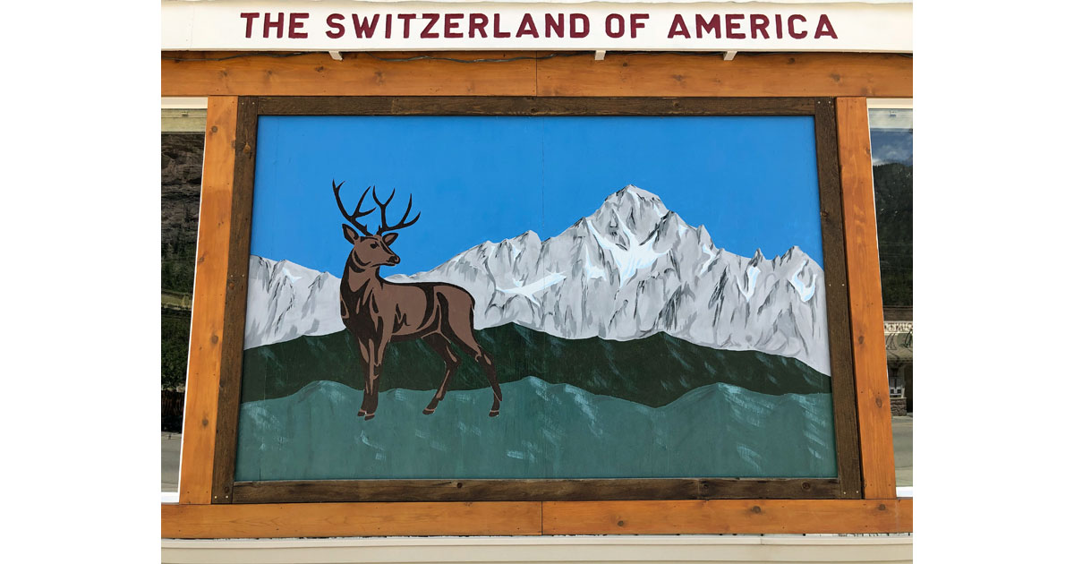 Ouray is the 'Switzerland of America'