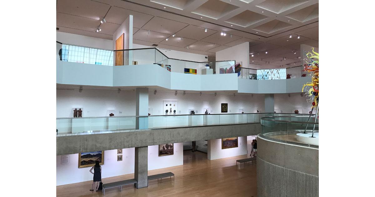 Palm Springs Art Museum Atrium