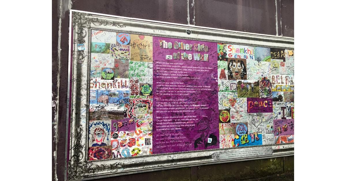 Peace Mural in Belfast