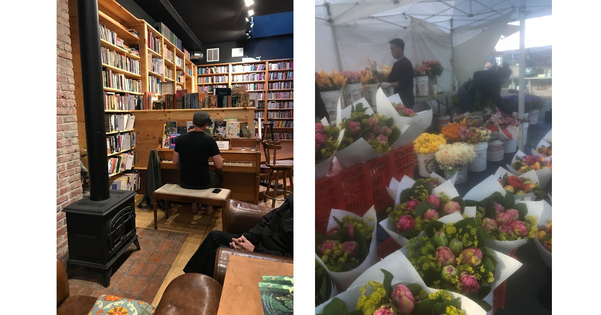 Pelican Books and Coffee & Farmers Market