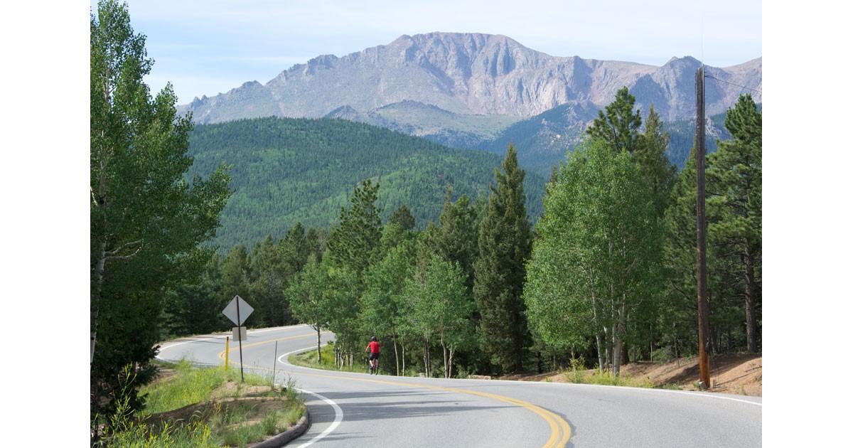 Pikes Peak Highway courtesy of Visit Colorado Springs