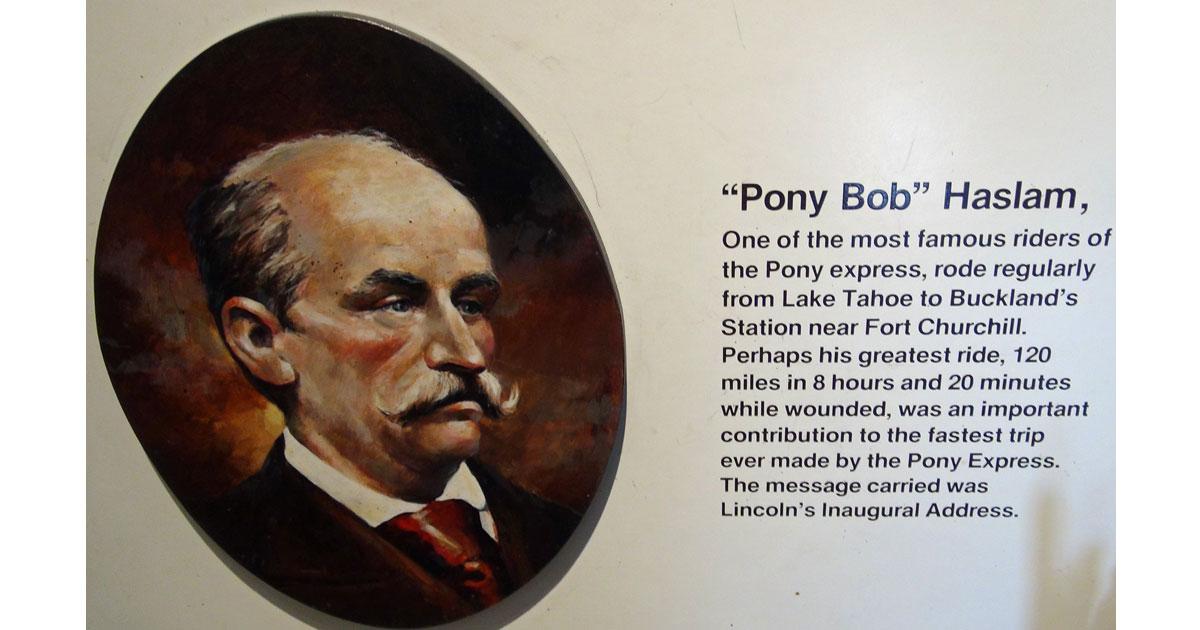 Pony Bob Haslam