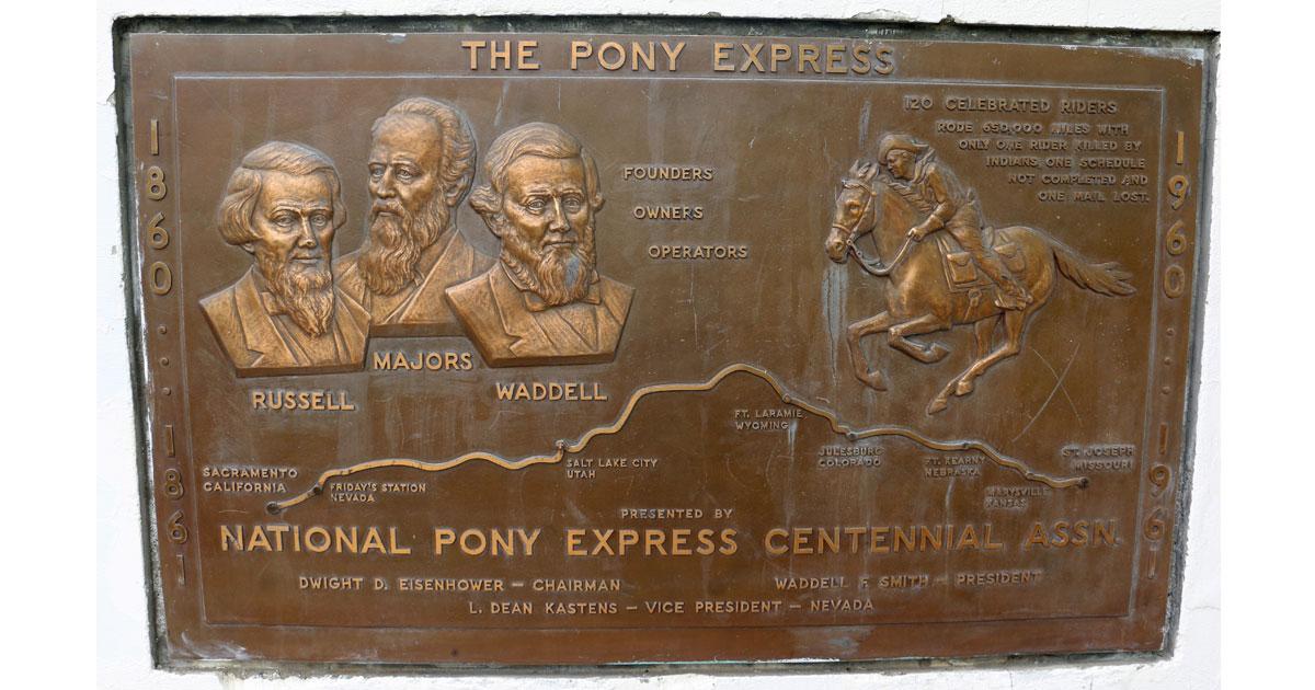 Pony Express Founders