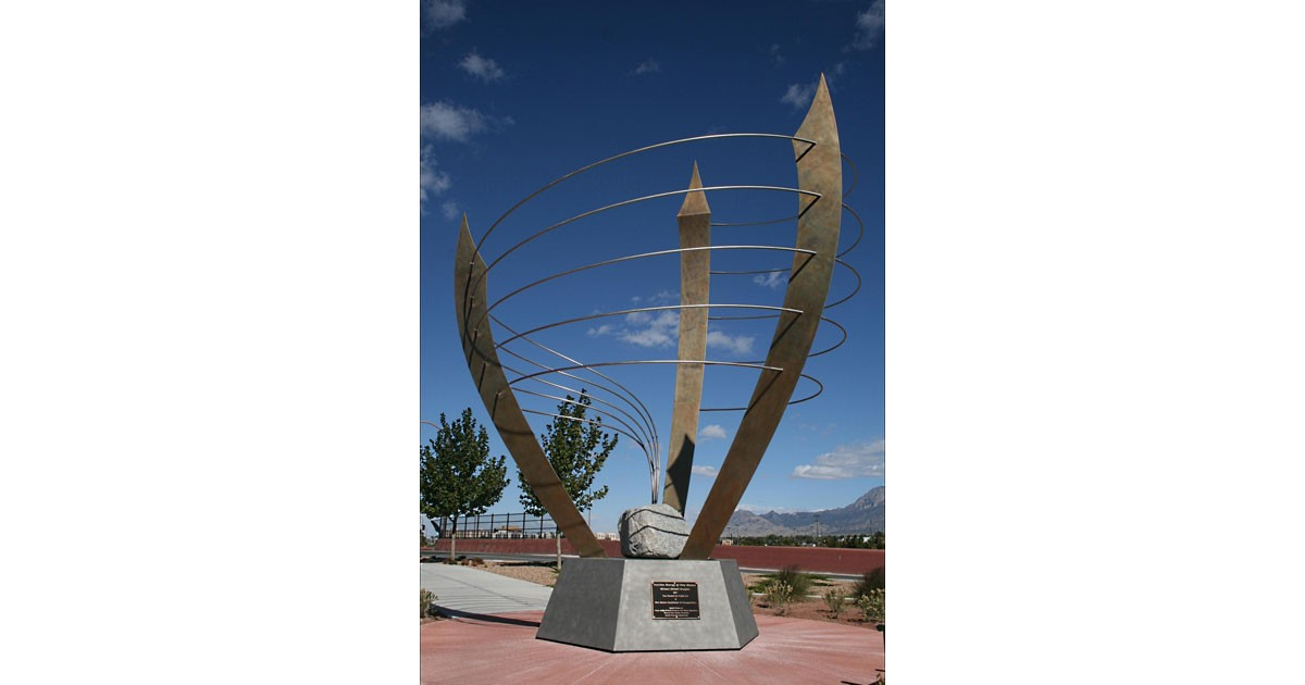 Positive Energy of New Mexico - Albuquerque, NM by Silver City artist Michael Metcalf