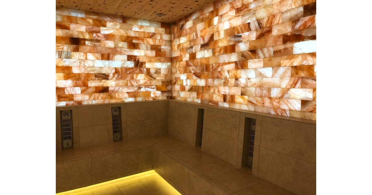 Relax in the Himalayan salt chamber at the Strata Integrated Wellness Spa at the Garden of the Gods Resort and Club. Photo by Debbie Stone