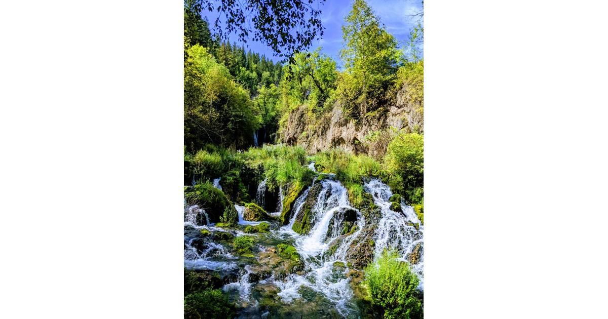 Roughlock Falls - Spearfish Canyon - South Dakota