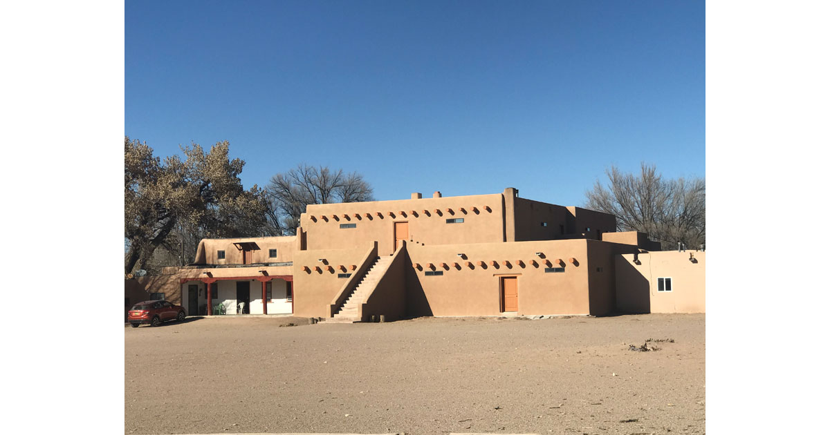 San Ildefonso Pueblo buildings
