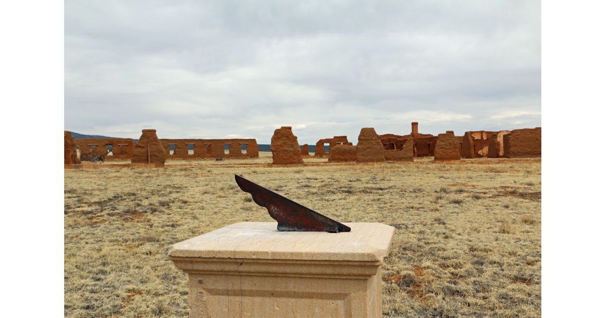 Sun Dial at Fort Union National Monument